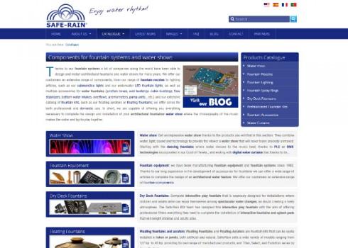 Página web Safe-Rain familia